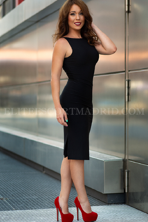 Paola, escort VIP en Madrid