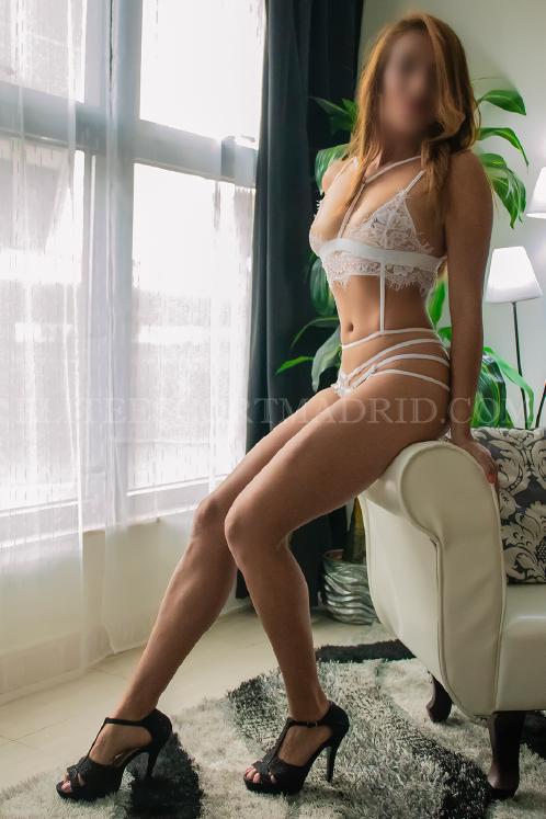 Silvia, encantadora escort española en Madrid